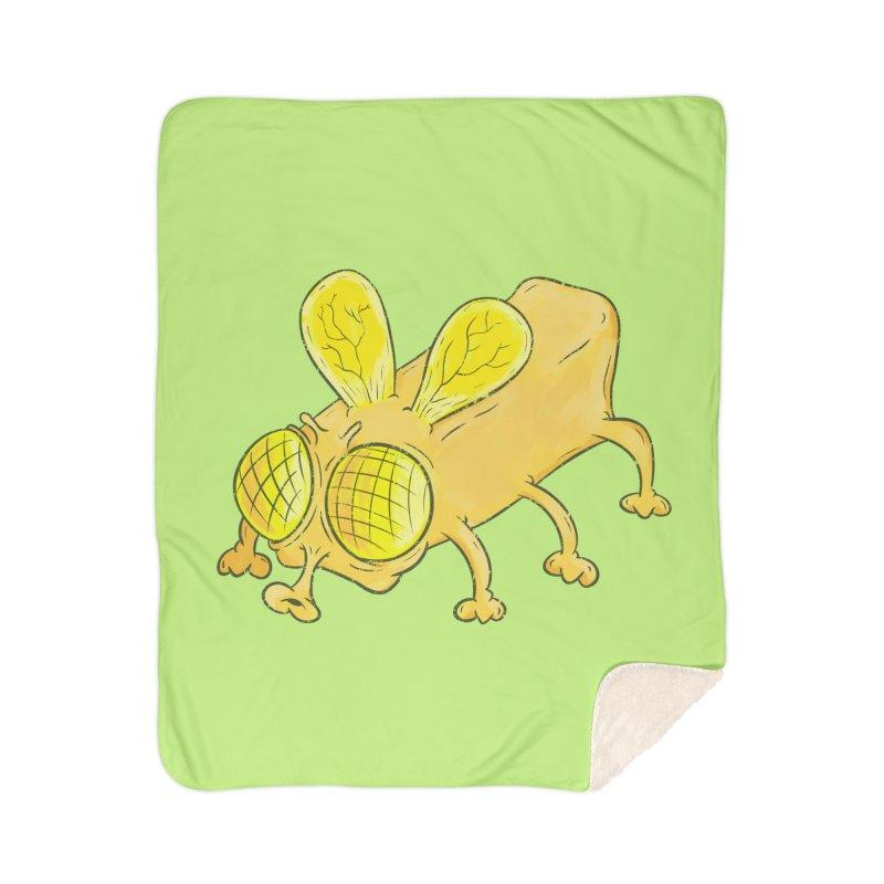 Butterfly Home Sherpa Blanket Blanket by The Last Tsunami's Artist Shop