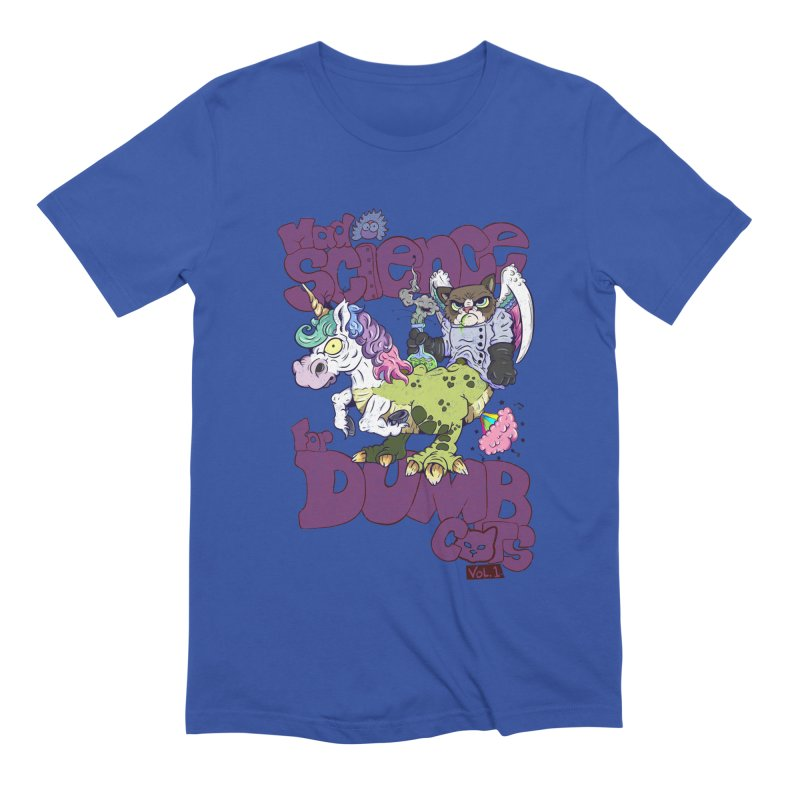 Mad Science for Dumb Cats Vol 1 Men's Extra Soft T-Shirt by The Last Tsunami's Artist Shop