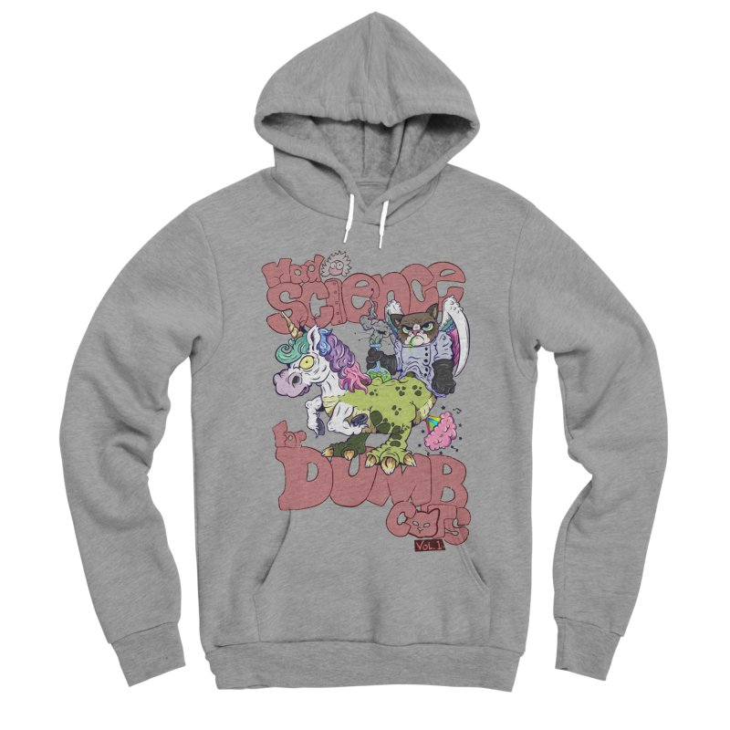 Mad Science for Dumb Cats Vol 1 Men's Sponge Fleece Pullover Hoody by The Last Tsunami's Artist Shop