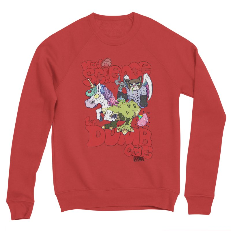 Mad Science for Dumb Cats Vol 1 Women's Sponge Fleece Sweatshirt by The Last Tsunami's Artist Shop