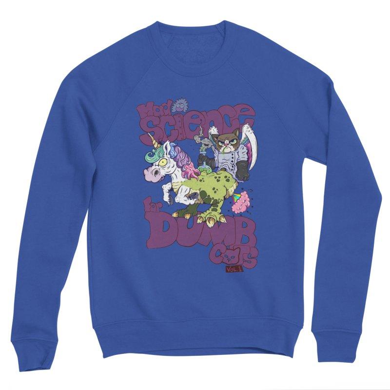 Mad Science for Dumb Cats Vol 1 Men's Sponge Fleece Sweatshirt by The Last Tsunami's Artist Shop