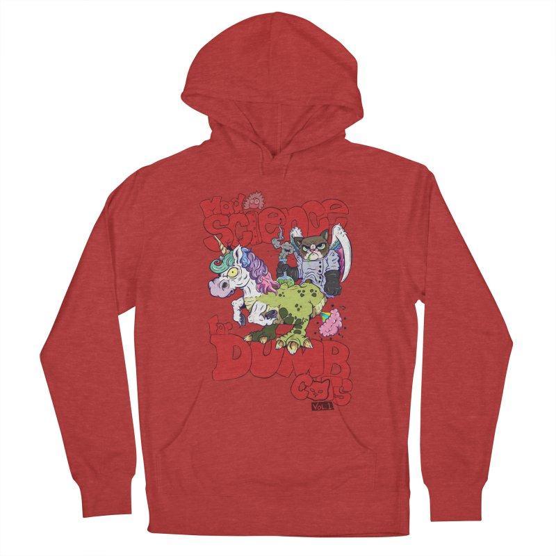 Mad Science for Dumb Cats Vol 1 Men's French Terry Pullover Hoody by The Last Tsunami's Artist Shop