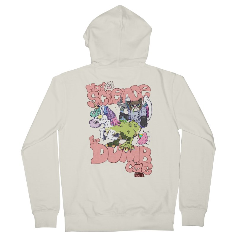 Mad Science for Dumb Cats Vol 1 Women's Zip-Up Hoody by The Last Tsunami's Artist Shop