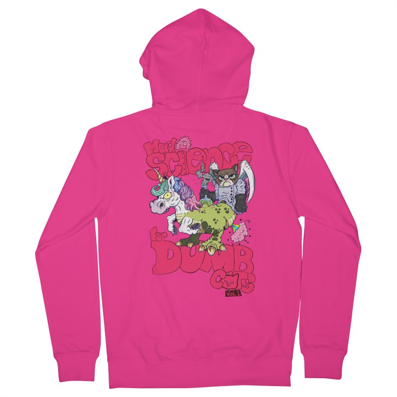 Mad Science for Dumb Cats Vol 1 Men's Zip-Up Hoody by The Last Tsunami's Artist Shop