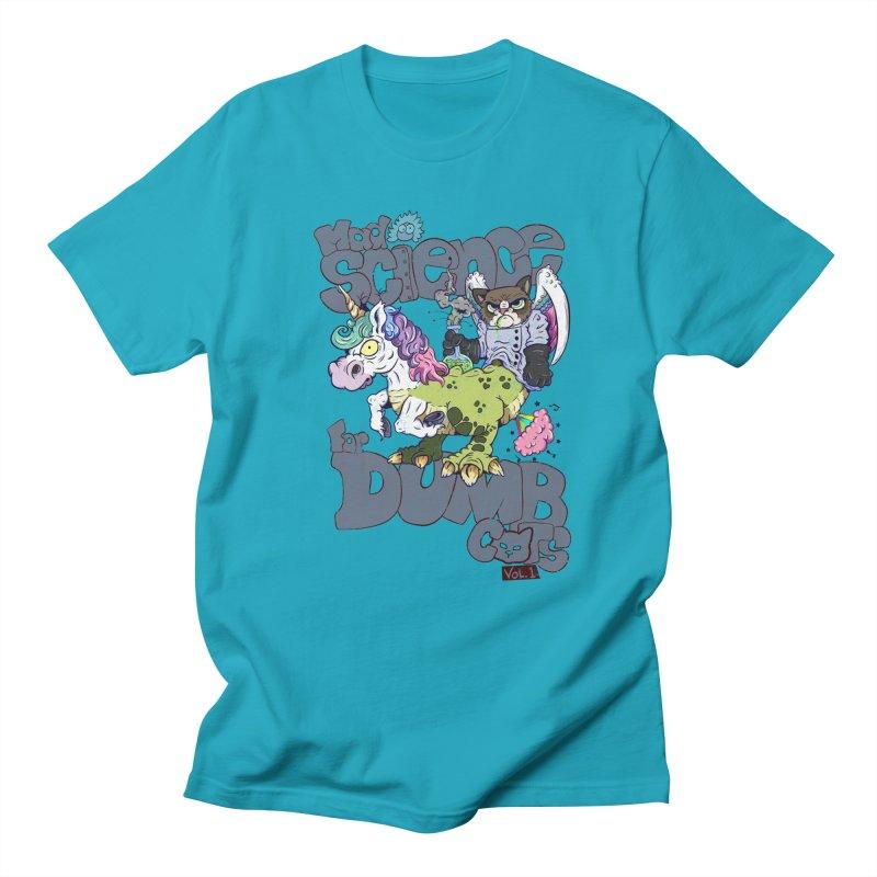 Mad Science for Dumb Cats Vol 1 Men's Regular T-Shirt by The Last Tsunami's Artist Shop