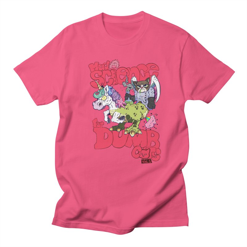 Mad Science for Dumb Cats Vol 1 Women's Regular Unisex T-Shirt by The Last Tsunami's Artist Shop