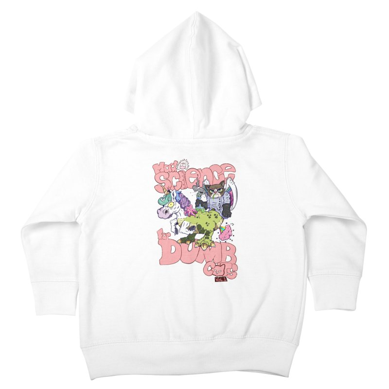 Mad Science for Dumb Cats Vol 1 Kids Toddler Zip-Up Hoody by The Last Tsunami's Artist Shop