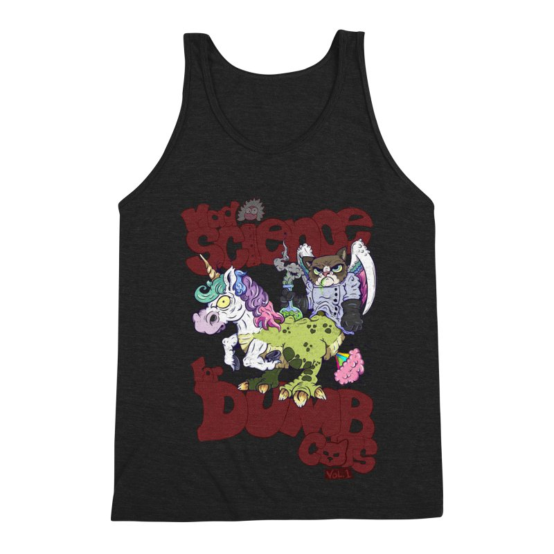 Mad Science for Dumb Cats Vol 1 Men's Triblend Tank by The Last Tsunami's Artist Shop
