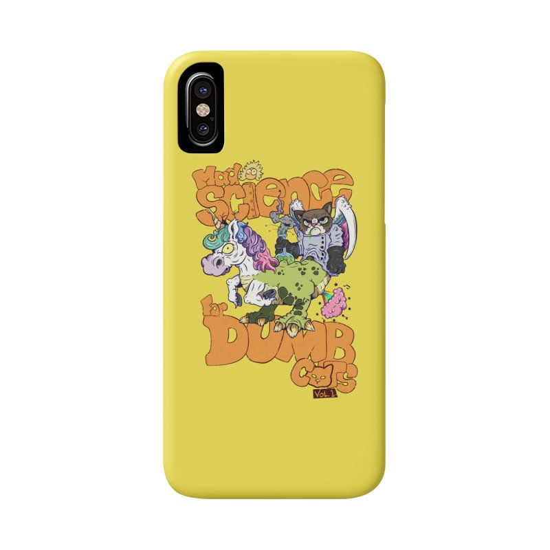 Mad Science for Dumb Cats Vol 1 Accessories Phone Case by The Last Tsunami's Artist Shop