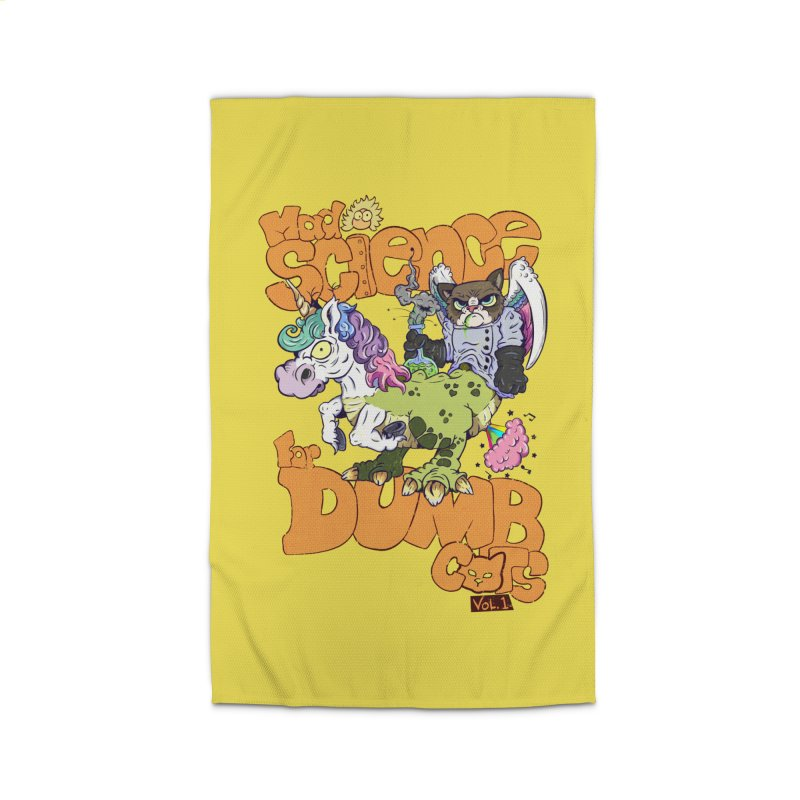 Mad Science for Dumb Cats Vol 1 Home Rug by The Last Tsunami's Artist Shop