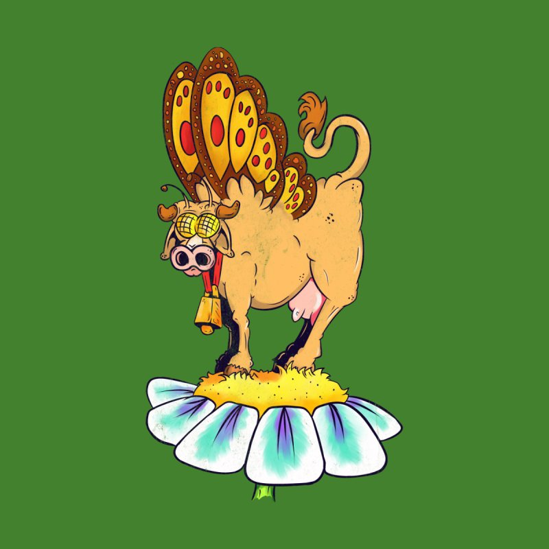 La Vaca Mariposa (The Cow Butterfly) by The Last Tsunami's Artist Shop
