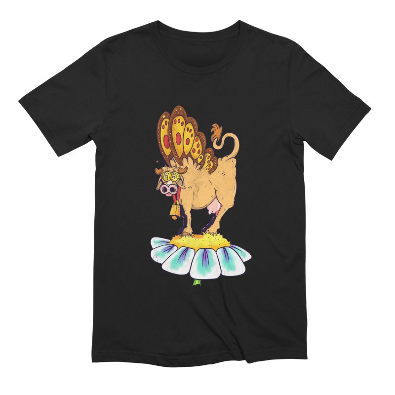 La Vaca Mariposa (The Cow Butterfly) Men's Extra Soft T-Shirt by The Last Tsunami's Artist Shop