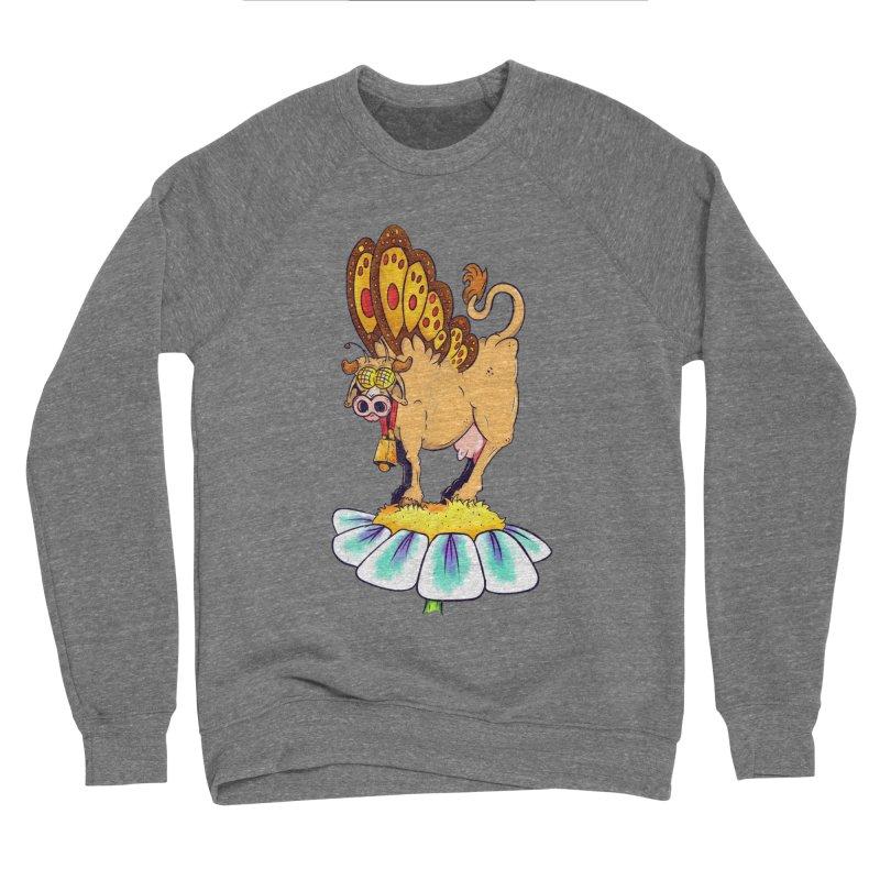 La Vaca Mariposa (The Cow Butterfly) Men's Sponge Fleece Sweatshirt by The Last Tsunami's Artist Shop