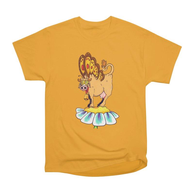 La Vaca Mariposa (The Cow Butterfly) Men's Heavyweight T-Shirt by The Last Tsunami's Artist Shop