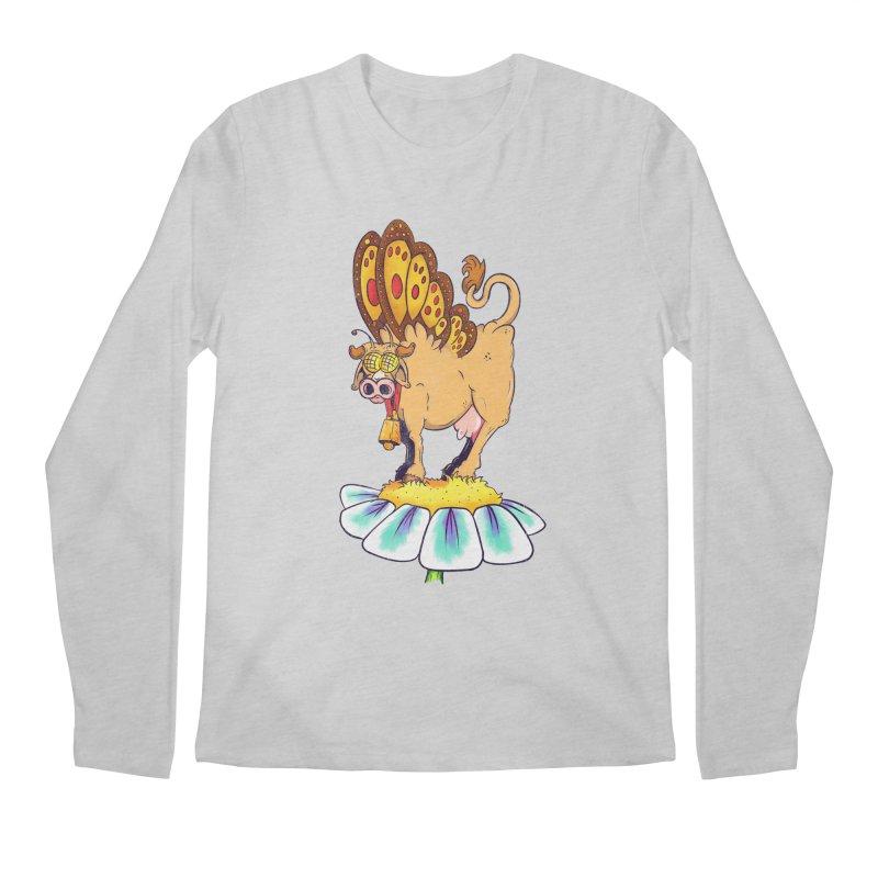 La Vaca Mariposa (The Cow Butterfly) Men's Longsleeve T-Shirt by The Last Tsunami's Artist Shop