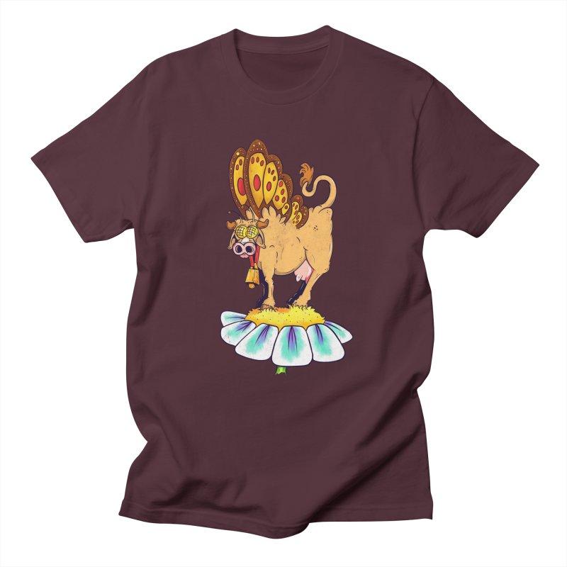 La Vaca Mariposa (The Cow Butterfly) Women's Regular Unisex T-Shirt by The Last Tsunami's Artist Shop