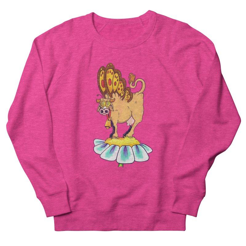 La Vaca Mariposa (The Cow Butterfly) Men's Sweatshirt by The Last Tsunami's Artist Shop