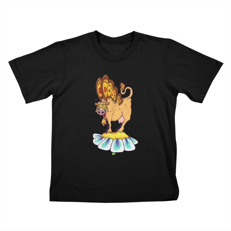 La Vaca Mariposa (The Cow Butterfly) Kids T-Shirt by The Last Tsunami's Artist Shop