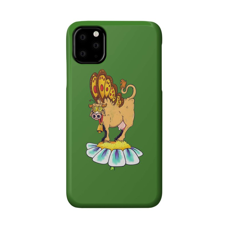 La Vaca Mariposa (The Cow Butterfly) Accessories Phone Case by The Last Tsunami's Artist Shop