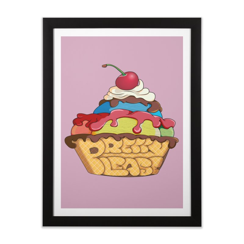 With the Cherry on Top Home Framed Fine Art Print by The Last Tsunami's Artist Shop