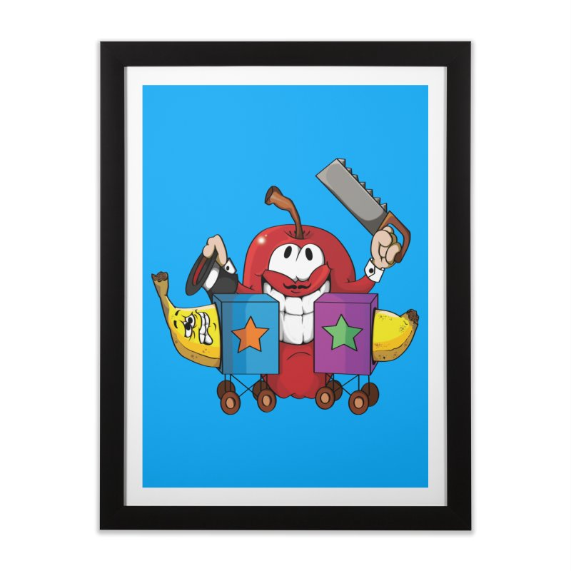 Banana Split Home Framed Fine Art Print by The Last Tsunami's Artist Shop