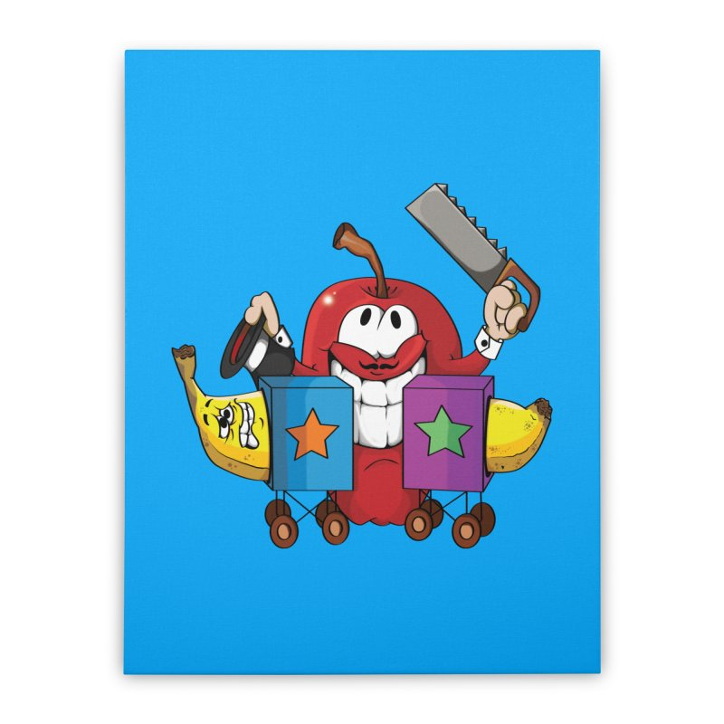 Banana Split Home Stretched Canvas by The Last Tsunami's Artist Shop