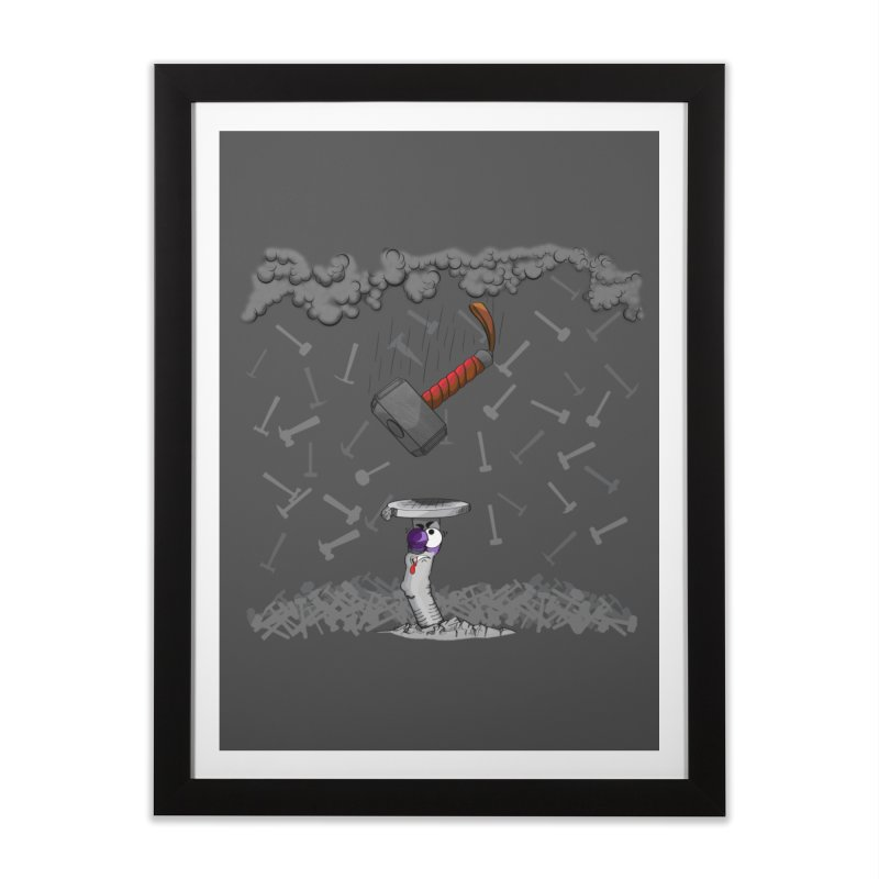 Bring it on!!! Home Framed Fine Art Print by The Last Tsunami's Artist Shop