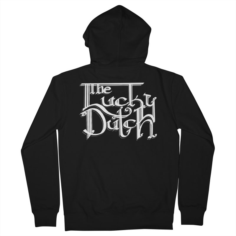 Logo Men's Zip-Up Hoody by The Lucky Dutch's Merch Page