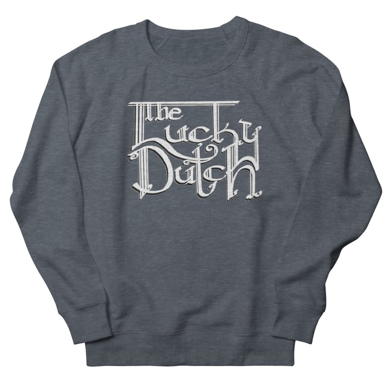 Logo Men's French Terry Sweatshirt by The Lucky Dutch's Merch Page