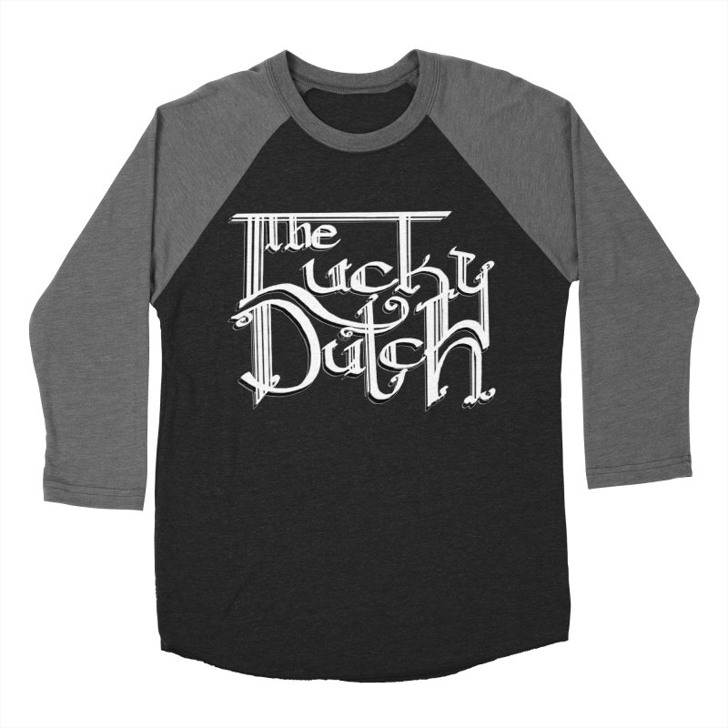 Logo Men's Baseball Triblend Longsleeve T-Shirt by The Lucky Dutch's Merch Page