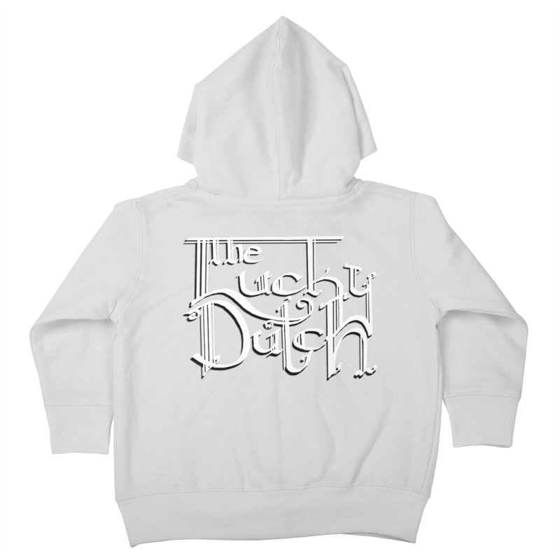 Logo Kids Toddler Zip-Up Hoody by The Lucky Dutch's Merch Page