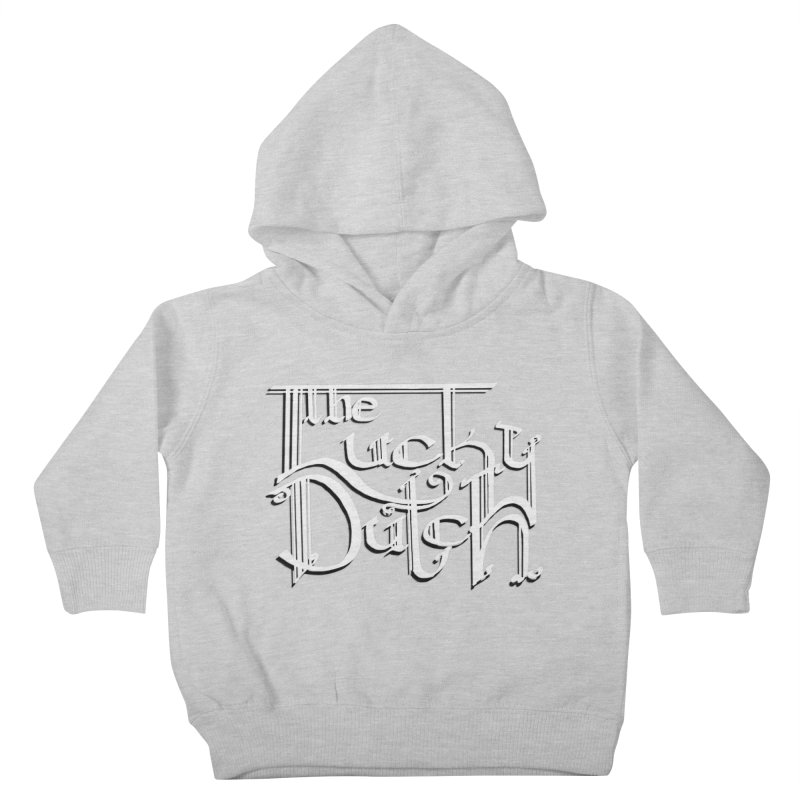 Logo Kids Toddler Pullover Hoody by The Lucky Dutch's Merch Page