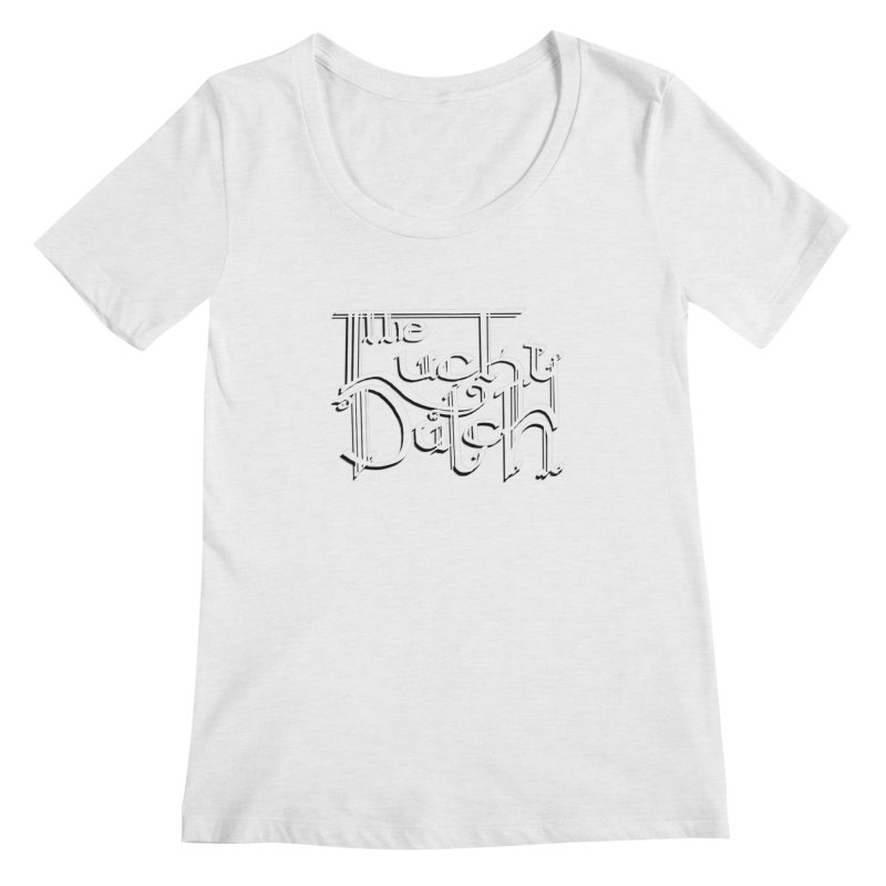 Logo Women's Regular Scoop Neck by The Lucky Dutch's Merch Page