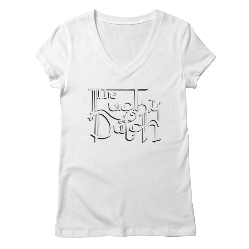 Logo Women's Regular V-Neck by The Lucky Dutch's Merch Page