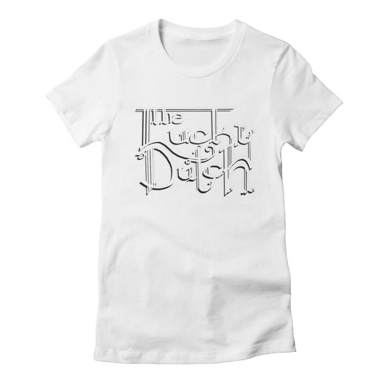 Logo Women's Fitted T-Shirt by The Lucky Dutch's Merch Page