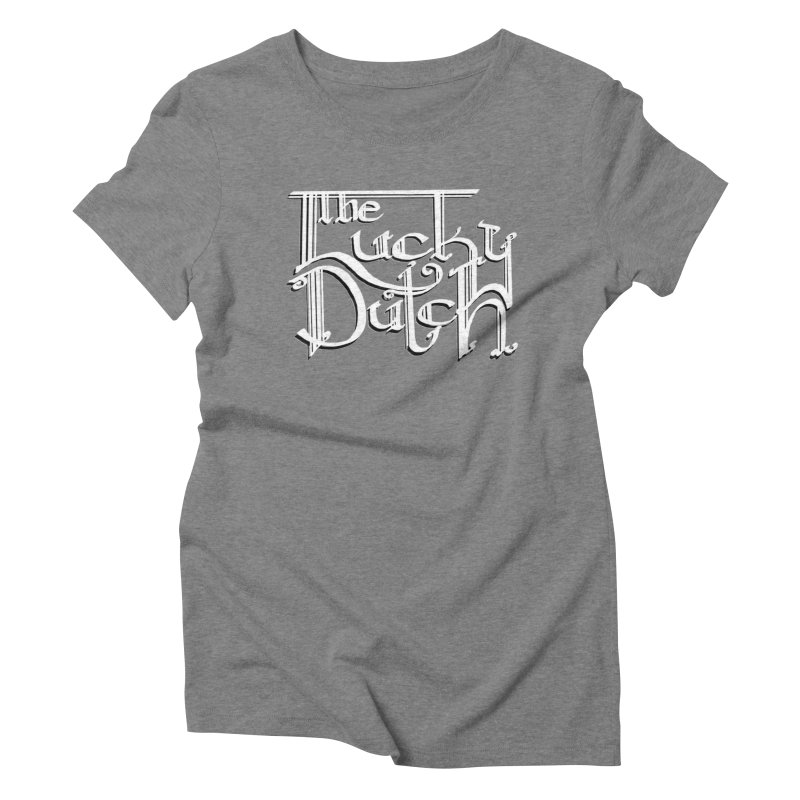 Logo Women's Triblend T-Shirt by The Lucky Dutch's Merch Page