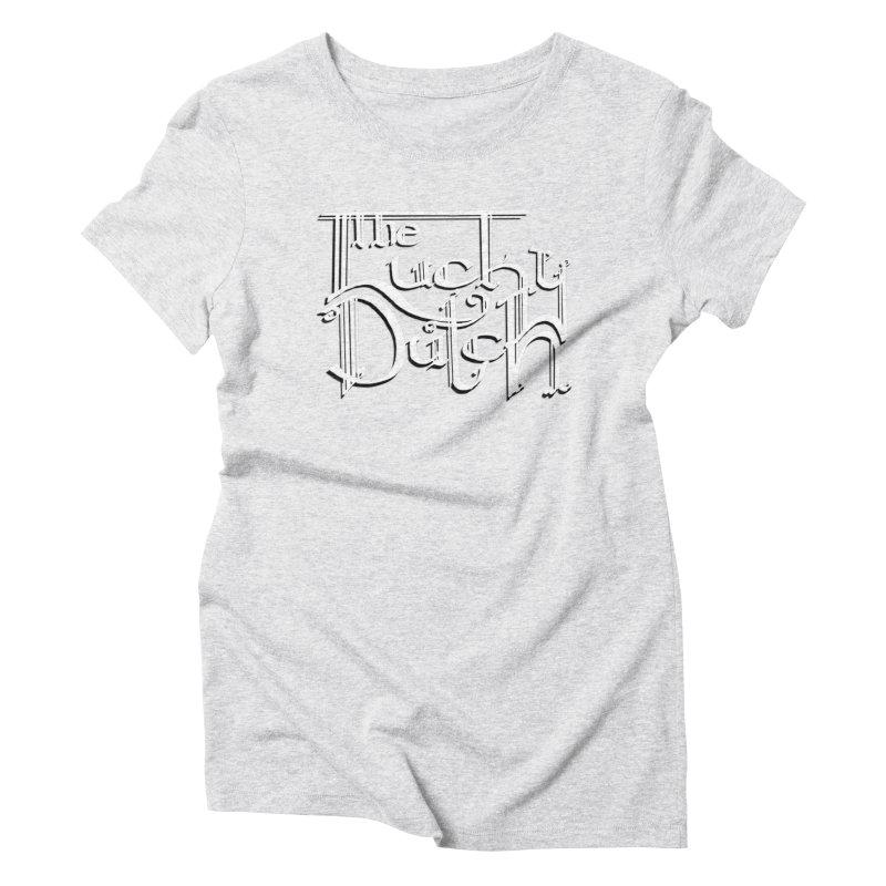 Logo Women's Triblend T-Shirt by The Lucky Dutch's Merch Page