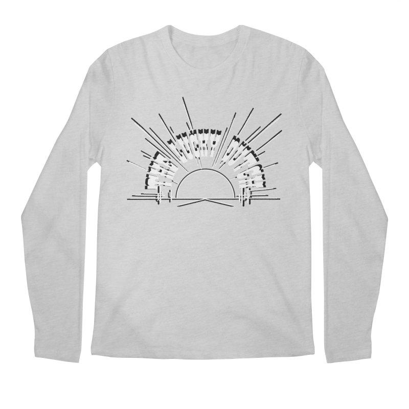 Sunset Out West Men's Regular Longsleeve T-Shirt by The Lucky Dutch's Merch Page