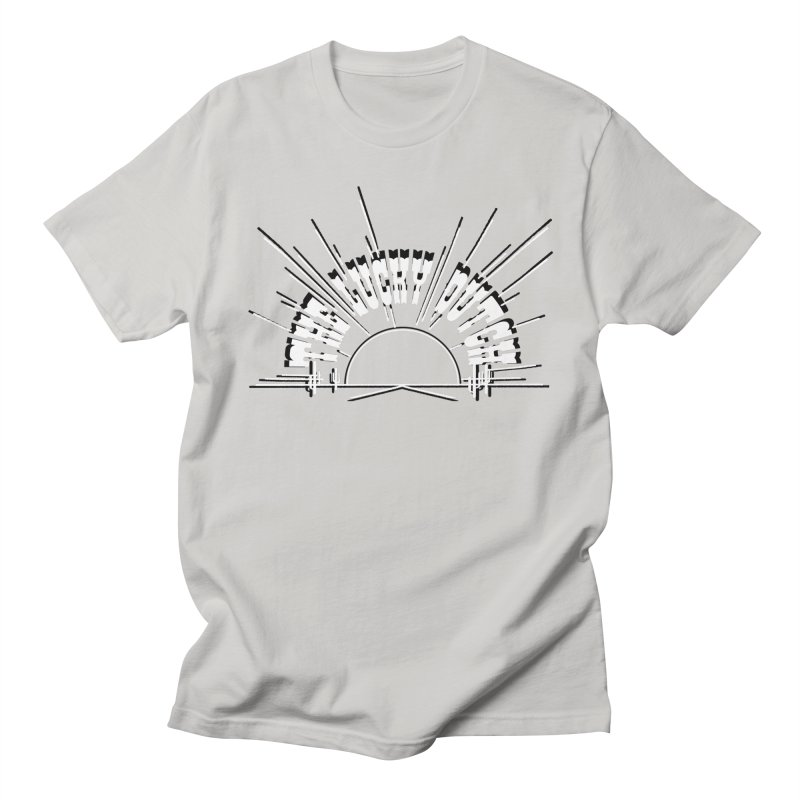 Sunset Out West Men's Regular T-Shirt by The Lucky Dutch's Merch Page