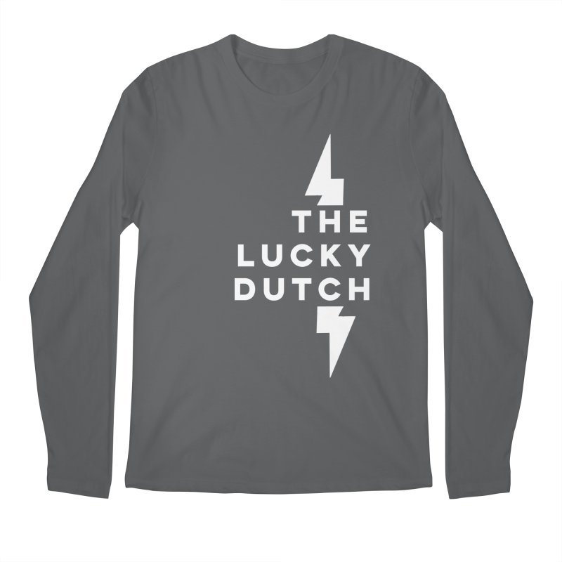 TLD Right Justified Men's Regular Longsleeve T-Shirt by The Lucky Dutch's Merch Page