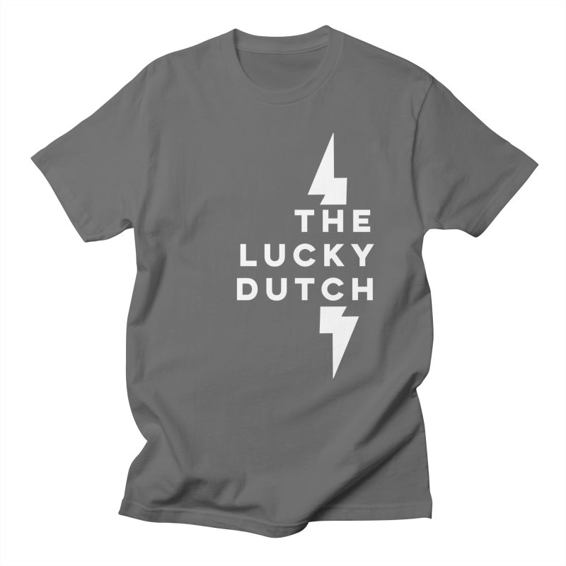 TLD Right Justified Men's T-Shirt by The Lucky Dutch's Merch Page