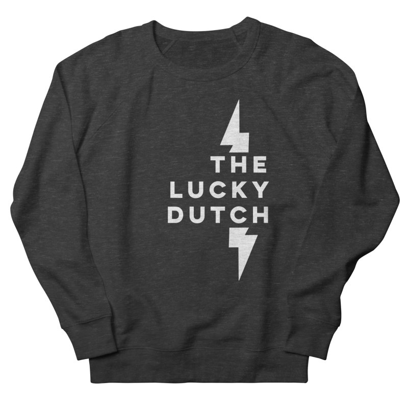 TLD Right Justified Women's French Terry Sweatshirt by The Lucky Dutch's Merch Page
