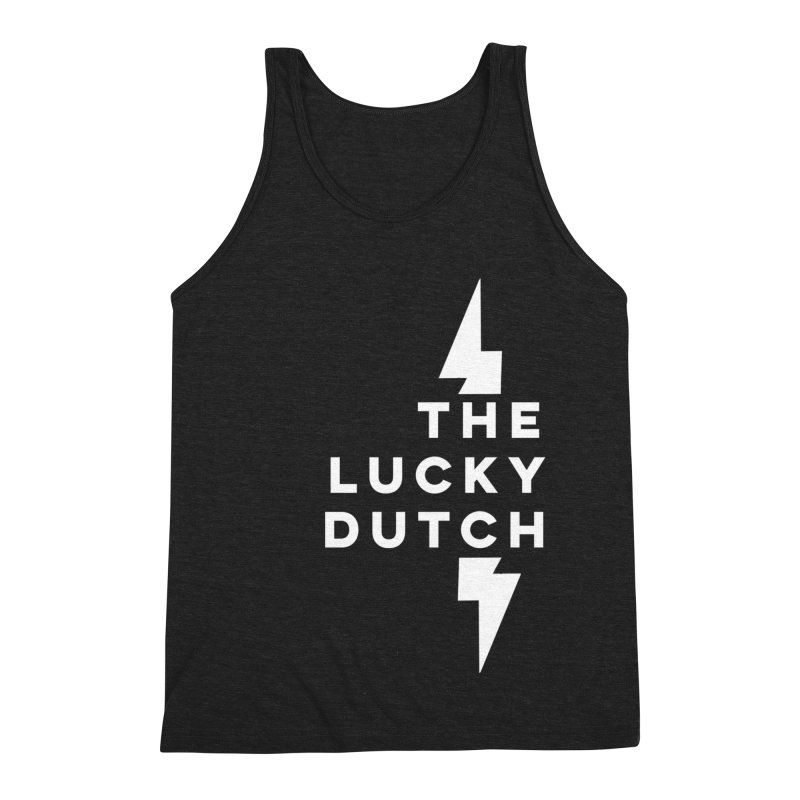 TLD Right Justified Men's Triblend Tank by The Lucky Dutch's Merch Page