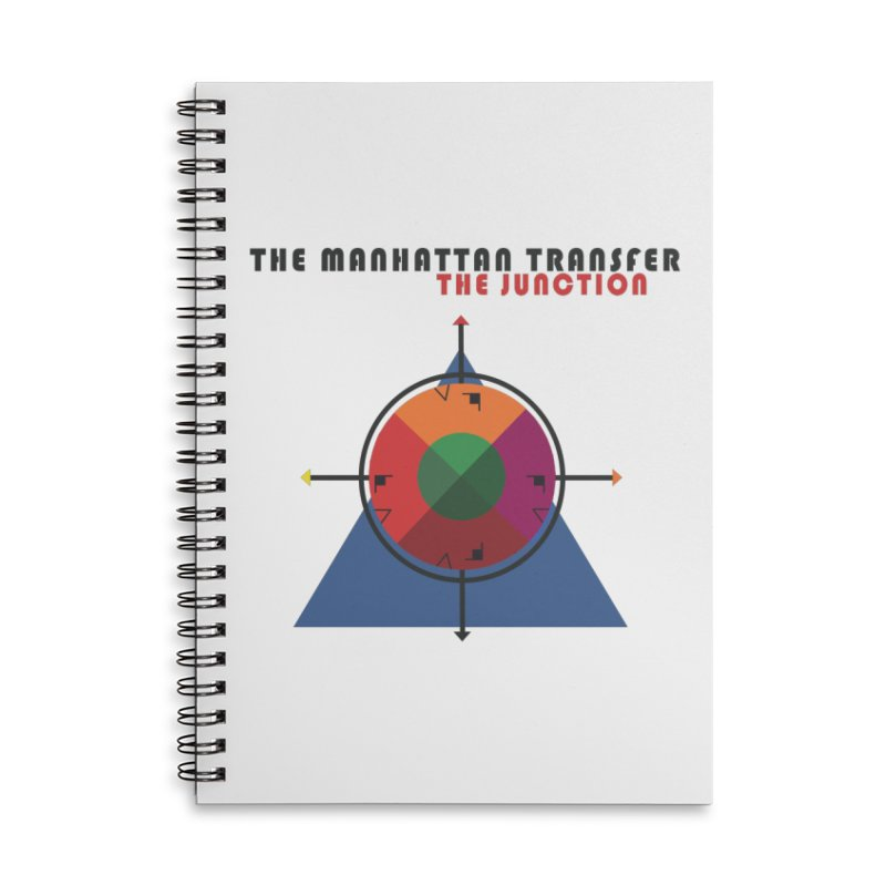 THE JUNCTION Accessories Lined Spiral Notebook by The Manhattan Transfer's Artist Shop