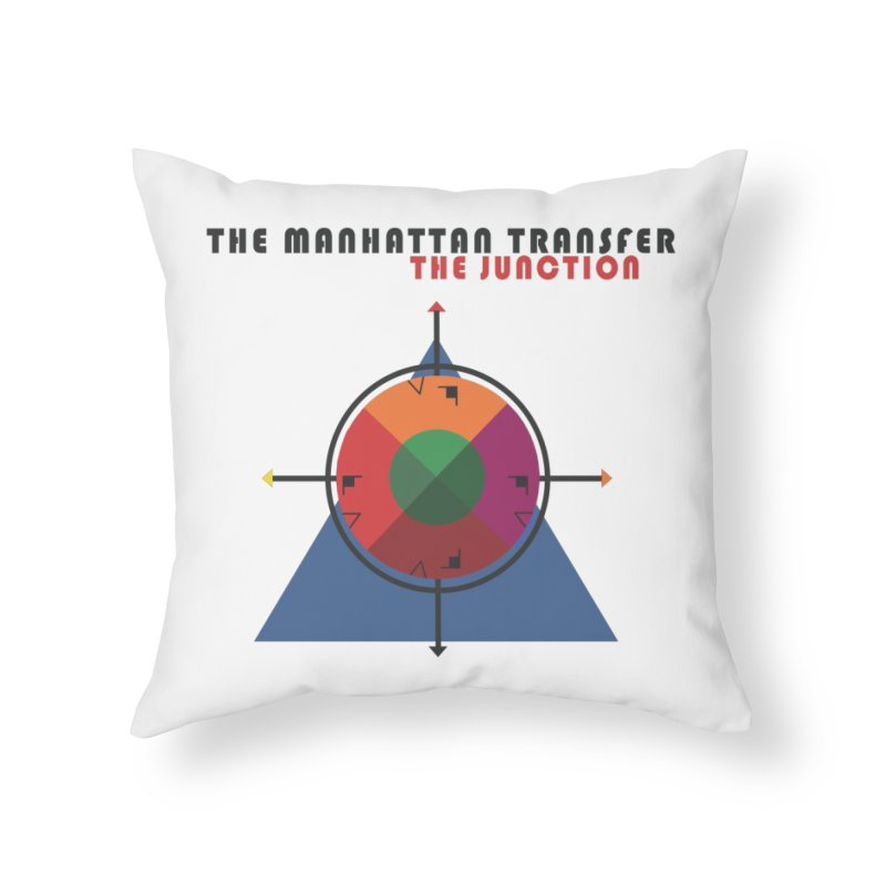 THE JUNCTION Home Throw Pillow by The Manhattan Transfer's Artist Shop