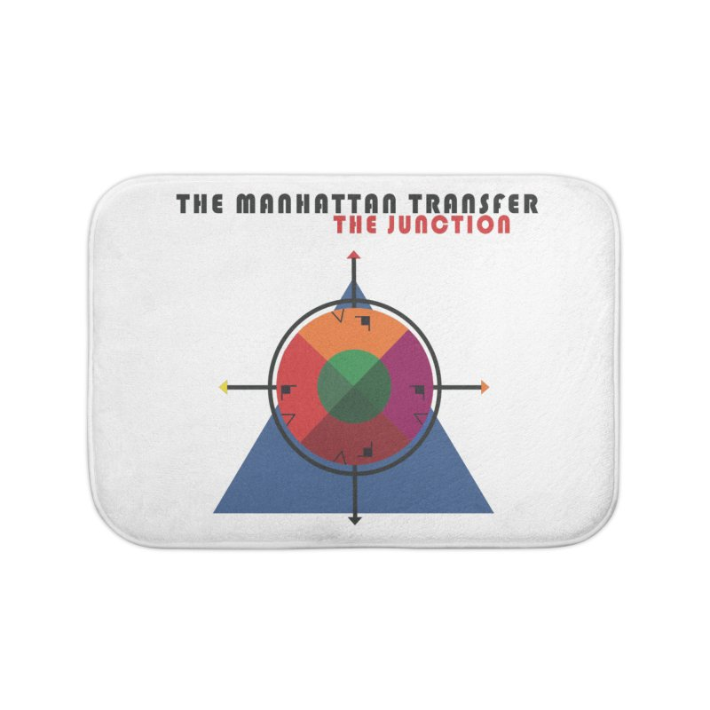 THE JUNCTION Home Bath Mat by The Manhattan Transfer's Artist Shop