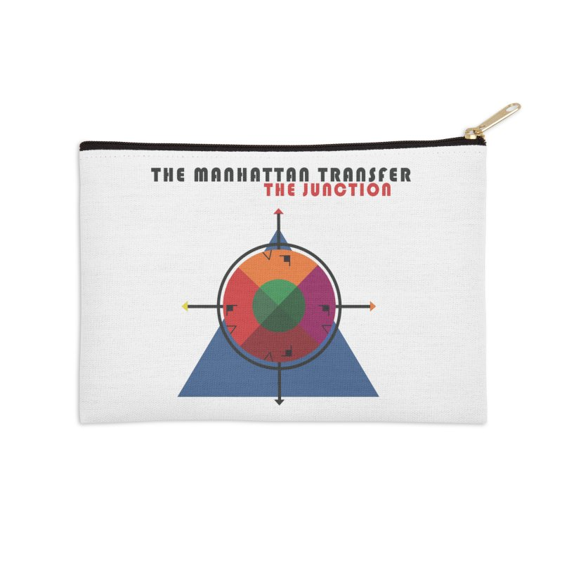 THE JUNCTION Accessories Zip Pouch by The Manhattan Transfer's Artist Shop
