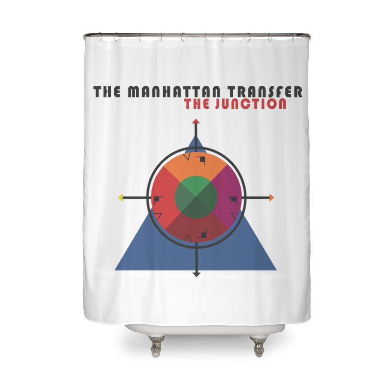 THE JUNCTION Home Shower Curtain by The Manhattan Transfer's Artist Shop