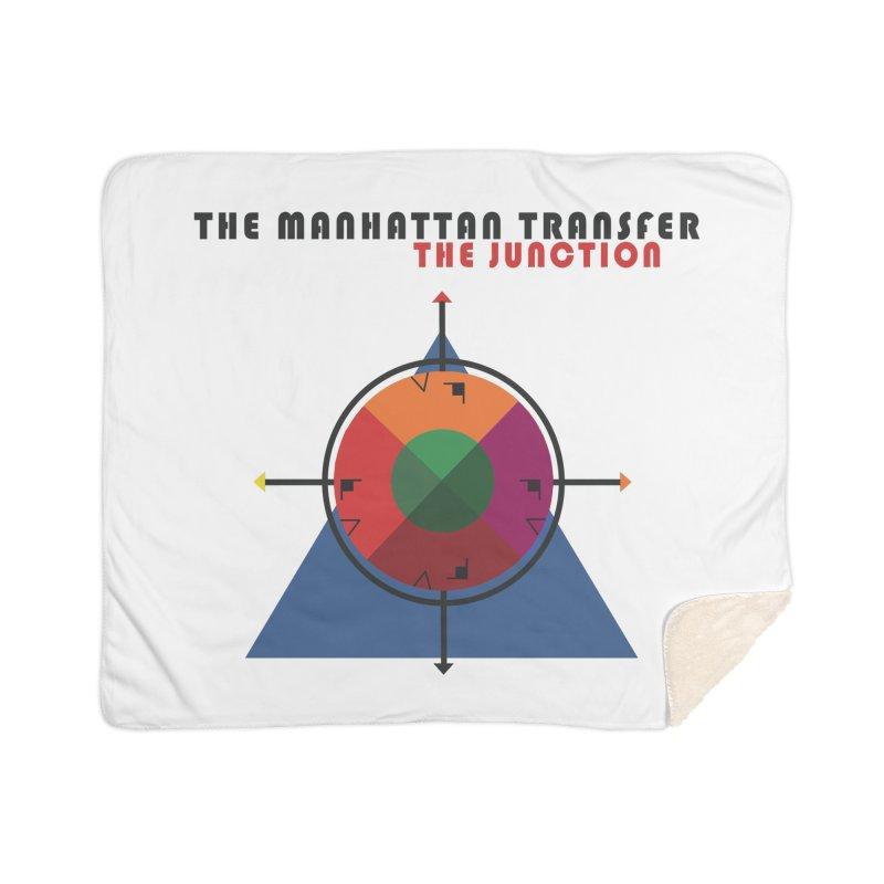 THE JUNCTION Home Sherpa Blanket Blanket by The Manhattan Transfer's Artist Shop