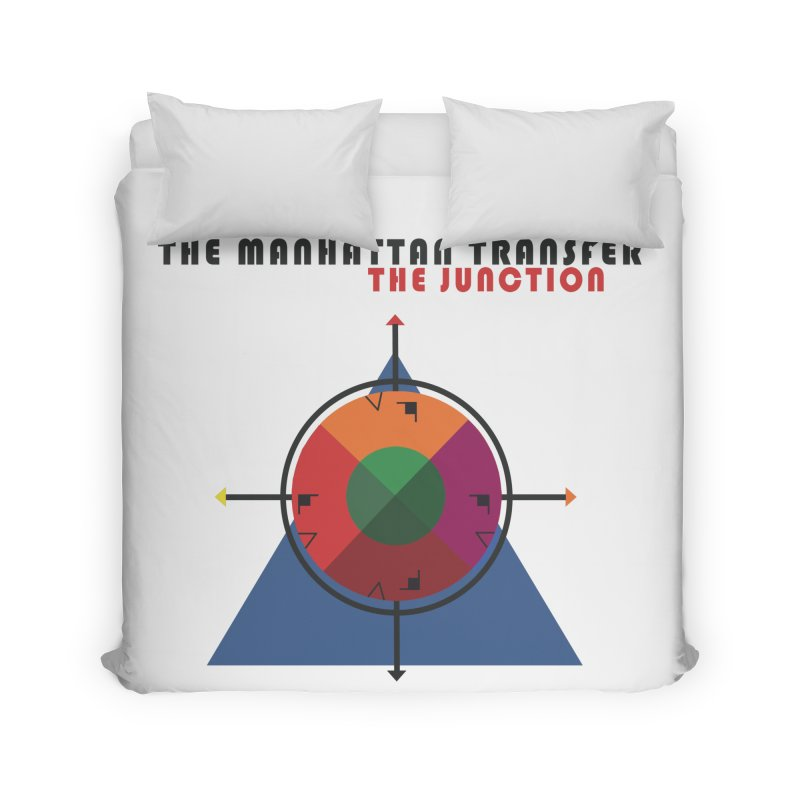 THE JUNCTION Home Duvet by The Manhattan Transfer's Artist Shop
